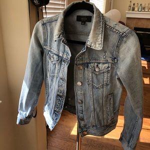 Jcrew INDIGO jean jacket